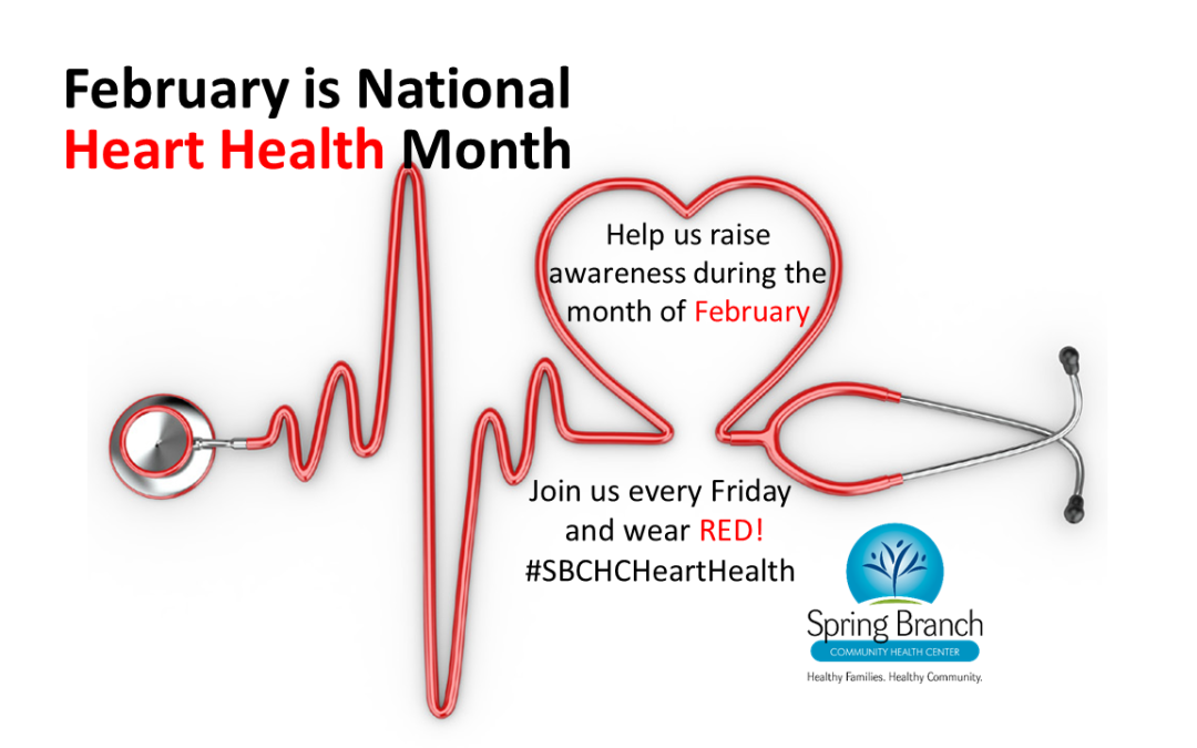 February is National Heart Health Month